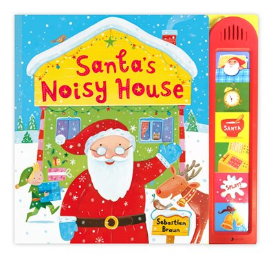Book cover for Santa's Noisy House